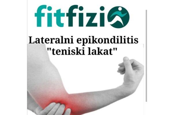 Epicondylitis lateralis ili sindrom teniskog lakta