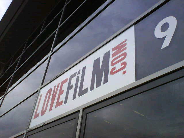 love film main signs using digital print made and installed by www.e-signs.co.uk