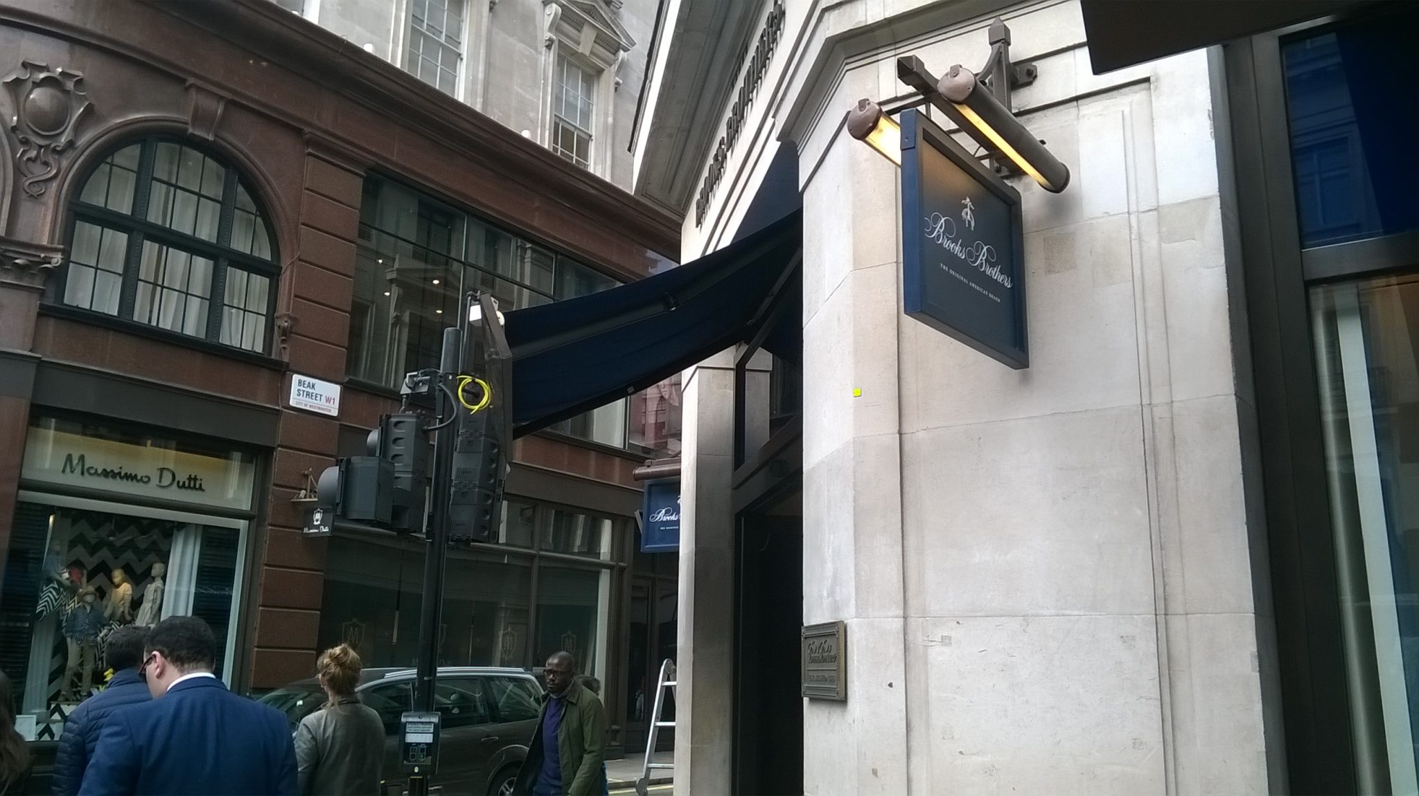 Brooks Brothers Projecting Sign by www.e-signs.co.uk