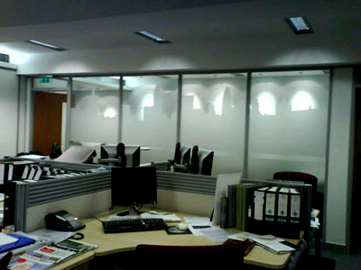 forsted window vinyl Wealth Managers repeatedly invest in E Signs ® www.e-signs.co.uk