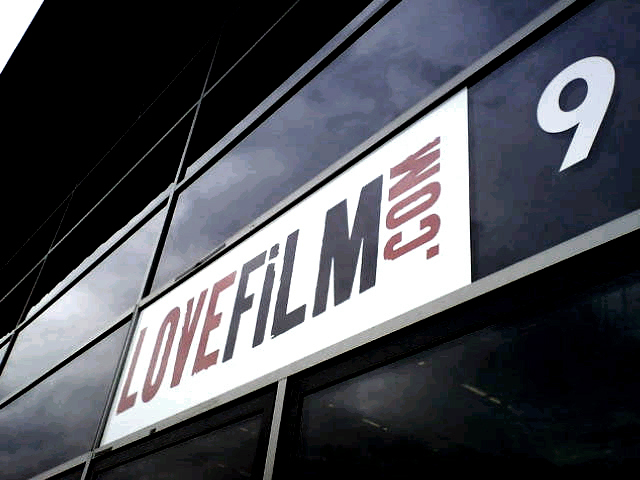 Lovefilm main sign by E Signs ® london www.e-signs.co.uk