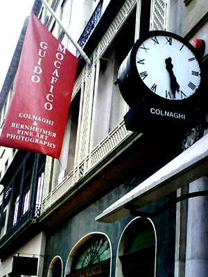 Illuminated Fascia Colnaghi Art Gallery London E Signs ® Banner www.e-signs.co.uk