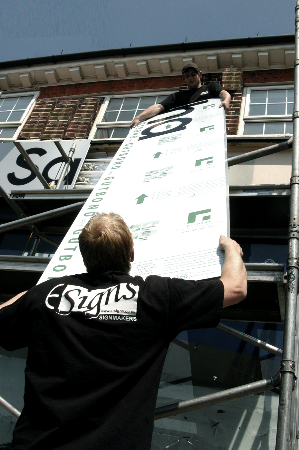 Internal Signs Illuminated Fascia E Signs ® www.e-signs.co.uk sign installers in London