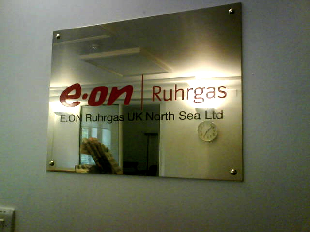 Illuminated Fascia eon main plaque E Signs ® www.e-signs.co.uk
