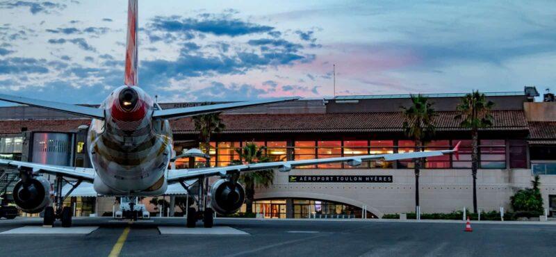 transfert aéroport toulon - hyères