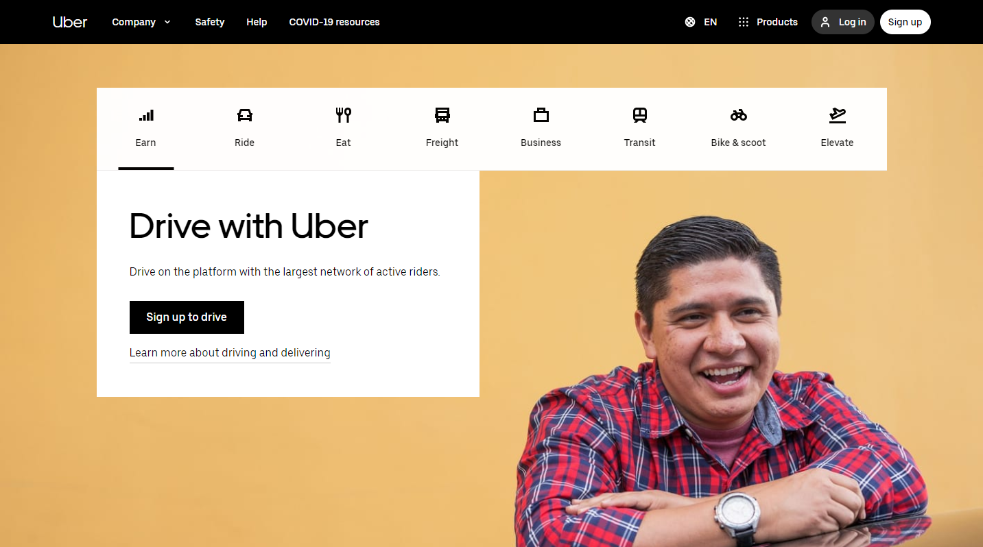 Uber.com – Drive with the Uber app