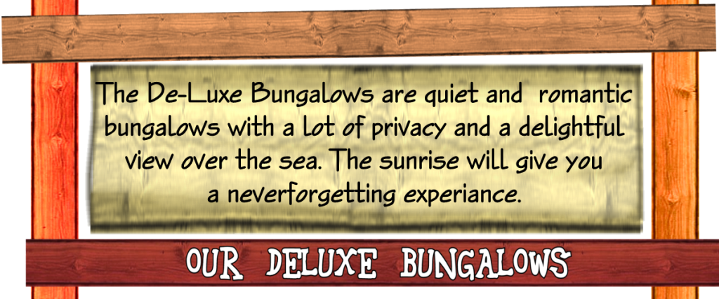 Bungalows (kan niet weg)