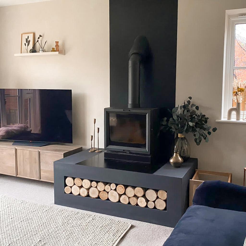 Cosy Scandi Living Room