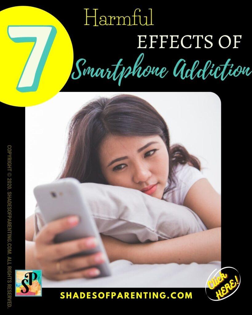 Harmful effects of Smartphone Addiction