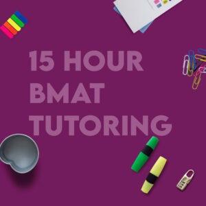 BMAT 15 Hour Tutoring