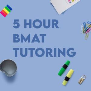 BMAT 5 Hour Tutoring
