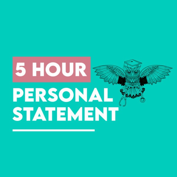 5 hours personal statement medicine package