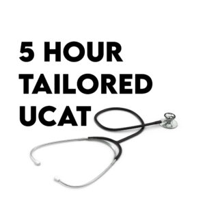 5 hour ucat tutoring session