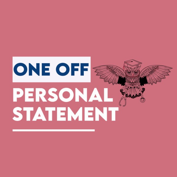 one off personal statement coaching medicine