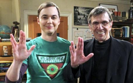 6.- sheldon and spock