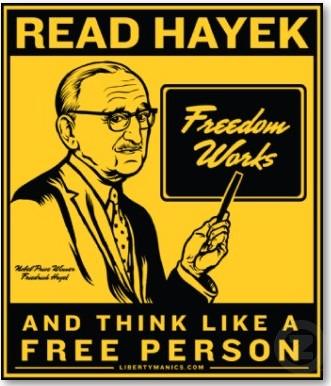 Hayek teaching1