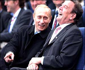 Putin - Schröder