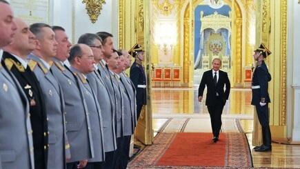 El Nuevo Zar. La Nueva Roma. El viejo ejército rojo.