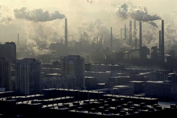 Contaminacion en Pekin