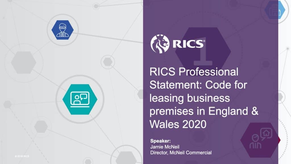 new code for leasing business and commercial premises