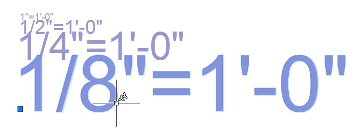 échelle annotative autocad