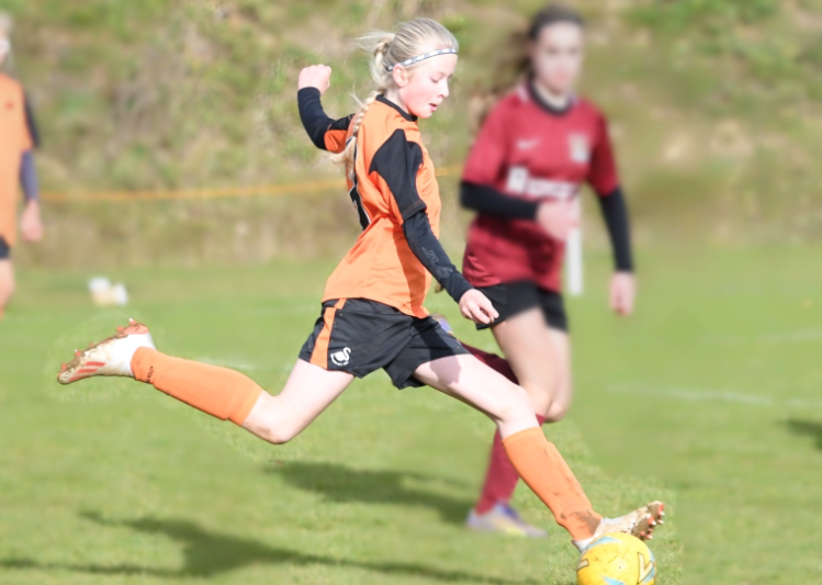 Girls Welsh Football Academy Success