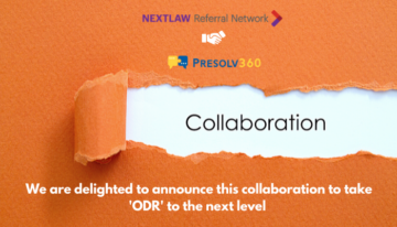 Announcement: Nextlaw Referral Network joins hands with Presolv360 to promote ODR