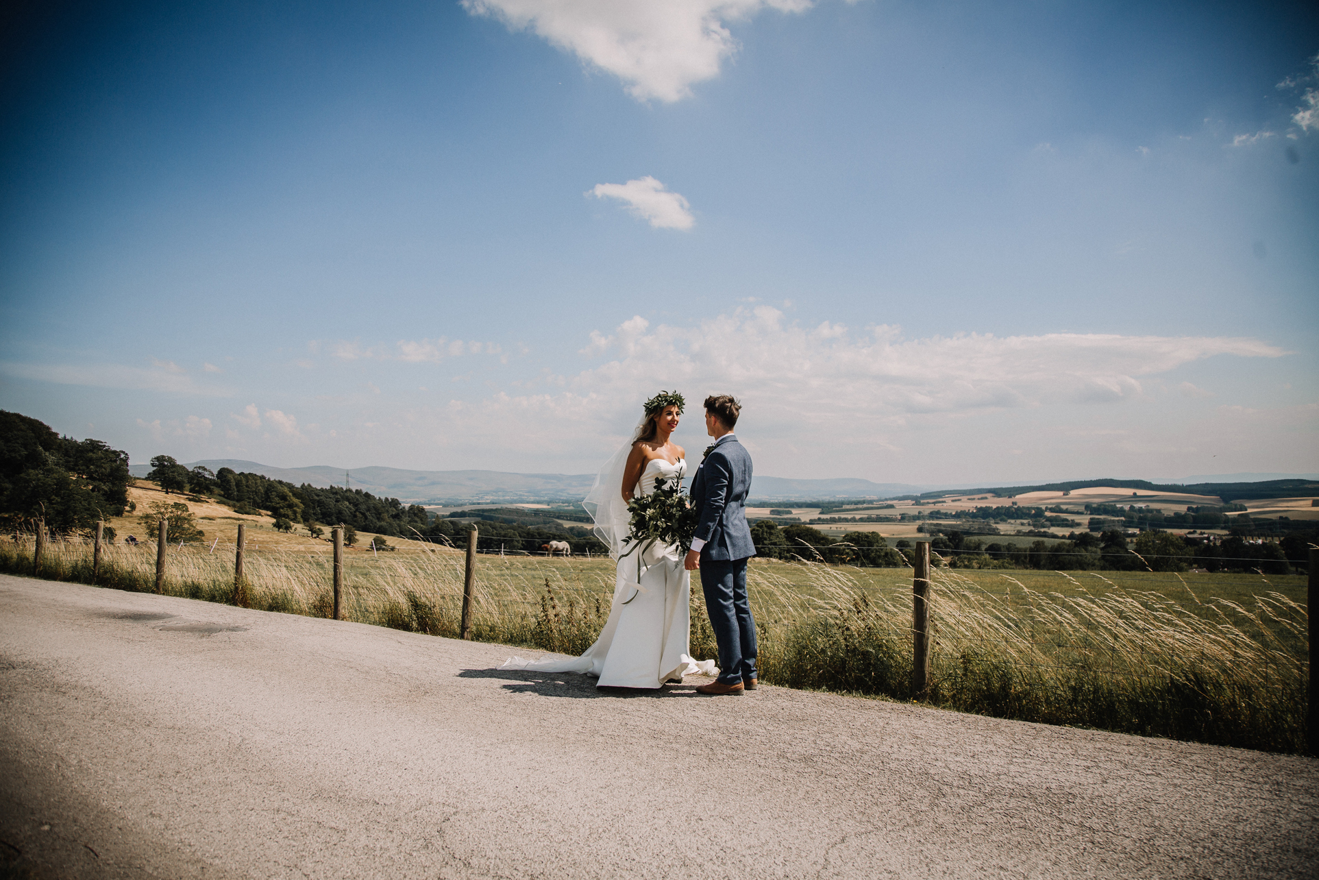 Weddings at the Rounthorn, Penrith the Lake District
