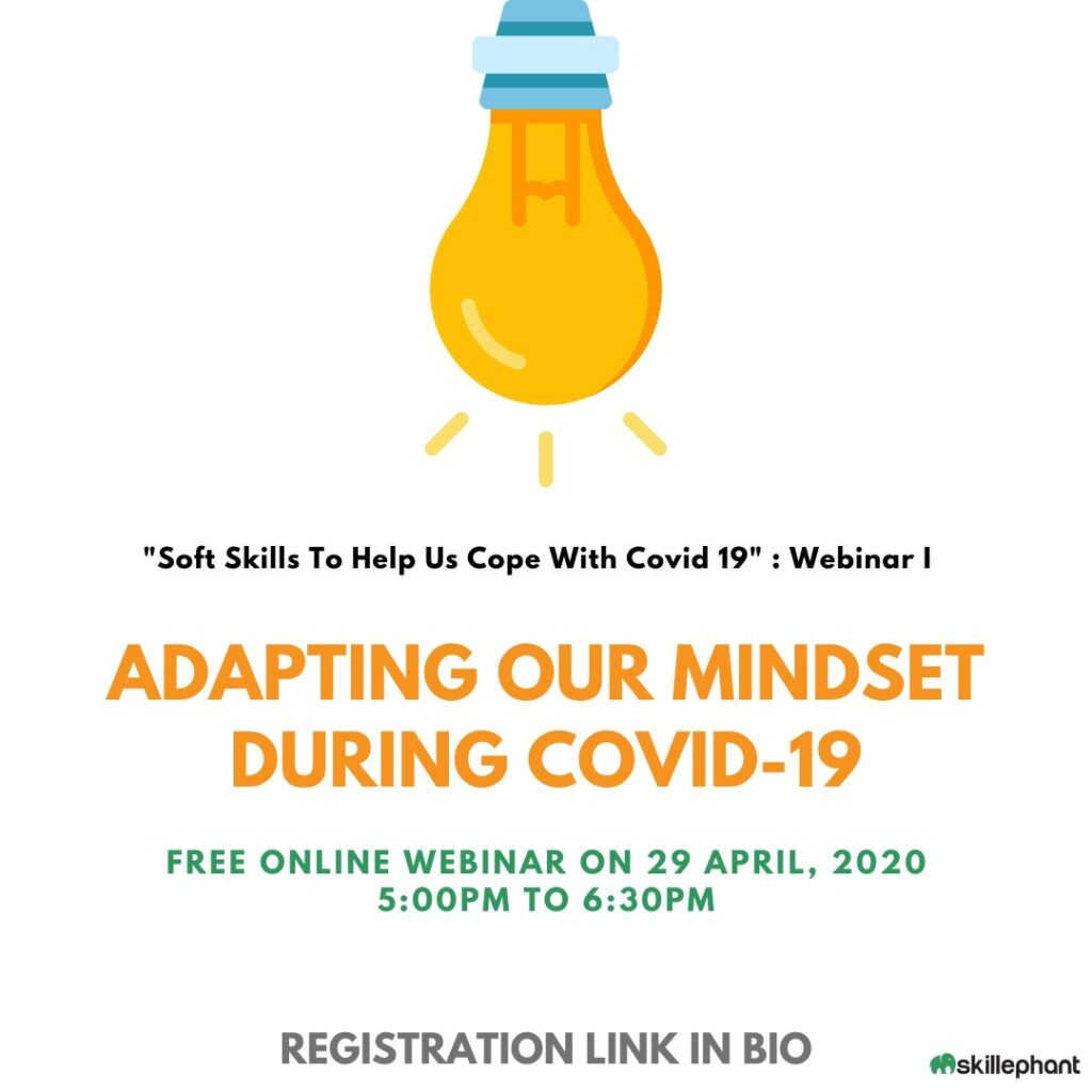 Adapting our mindset during COVID-19