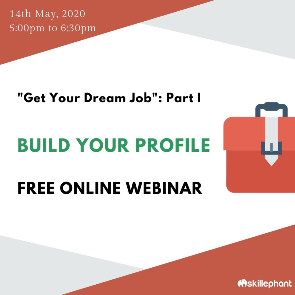 Get your Dream Job - Part 2