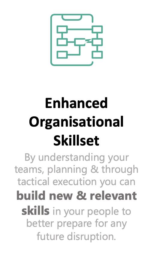Enhanced Organisational Skillset - with people