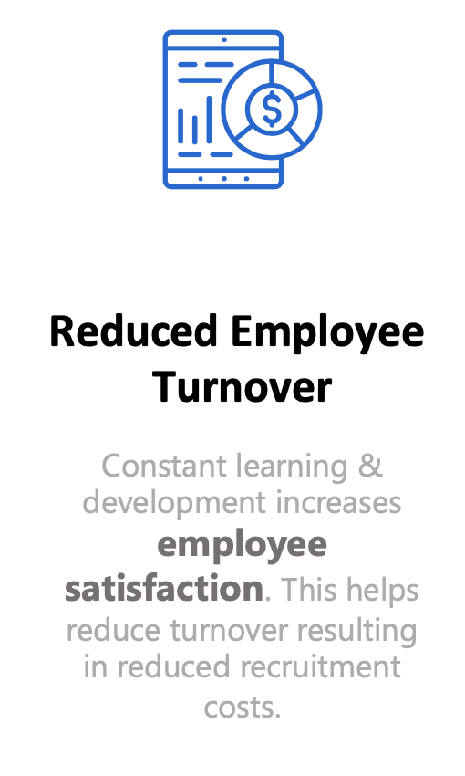 Reduced Employee Turnover - with people