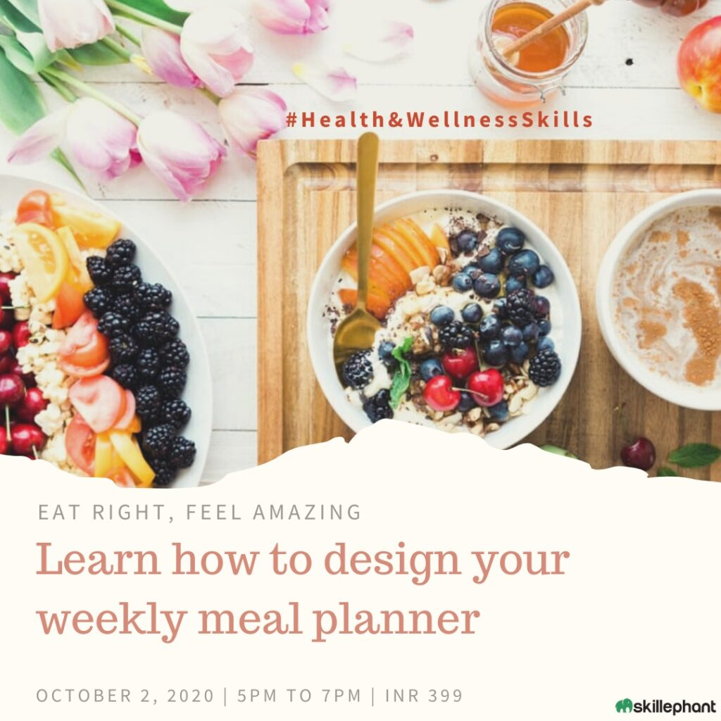 Design your weekly meal planner