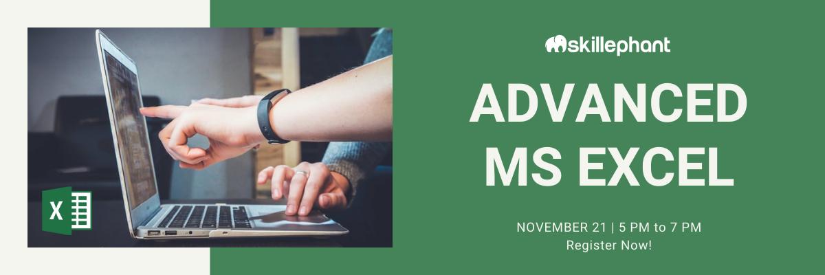 Online Workshop - MS Excel