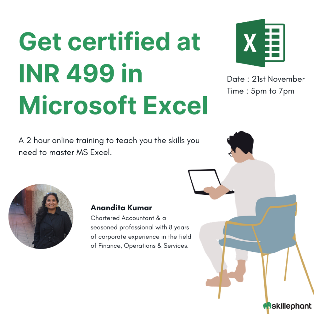 MS Excel Workshop with Certification