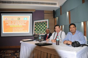 The Resource persons IA R Anantharam, IA Casto Abundo and CEO AICF Bharat Singh