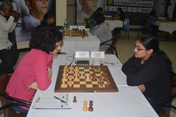 WGM Padmini Rout (W) & Hinduja Reddy (B)