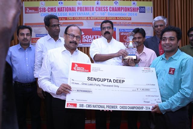 2 Deep Sengupta finished runner up