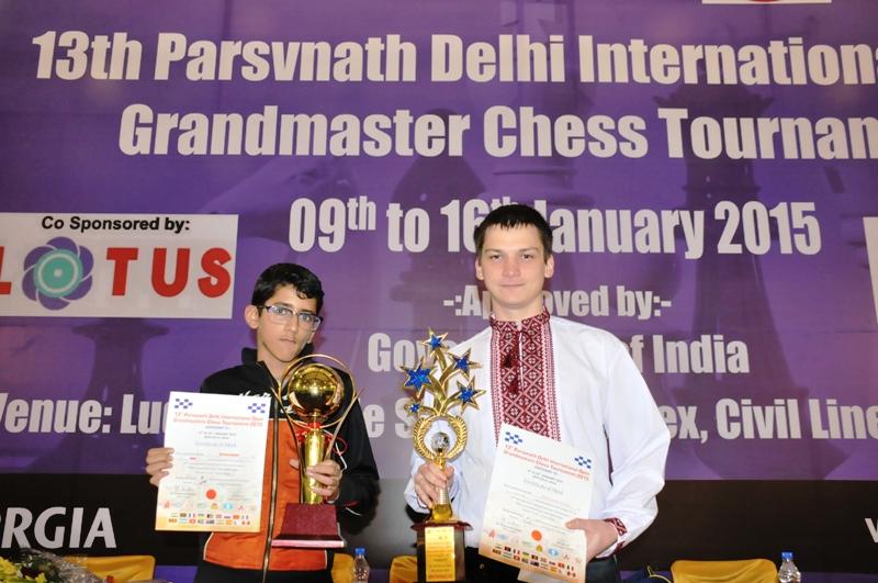 Category C winner Vardan Nagpal and Category A winner Andrey Baryshpolets