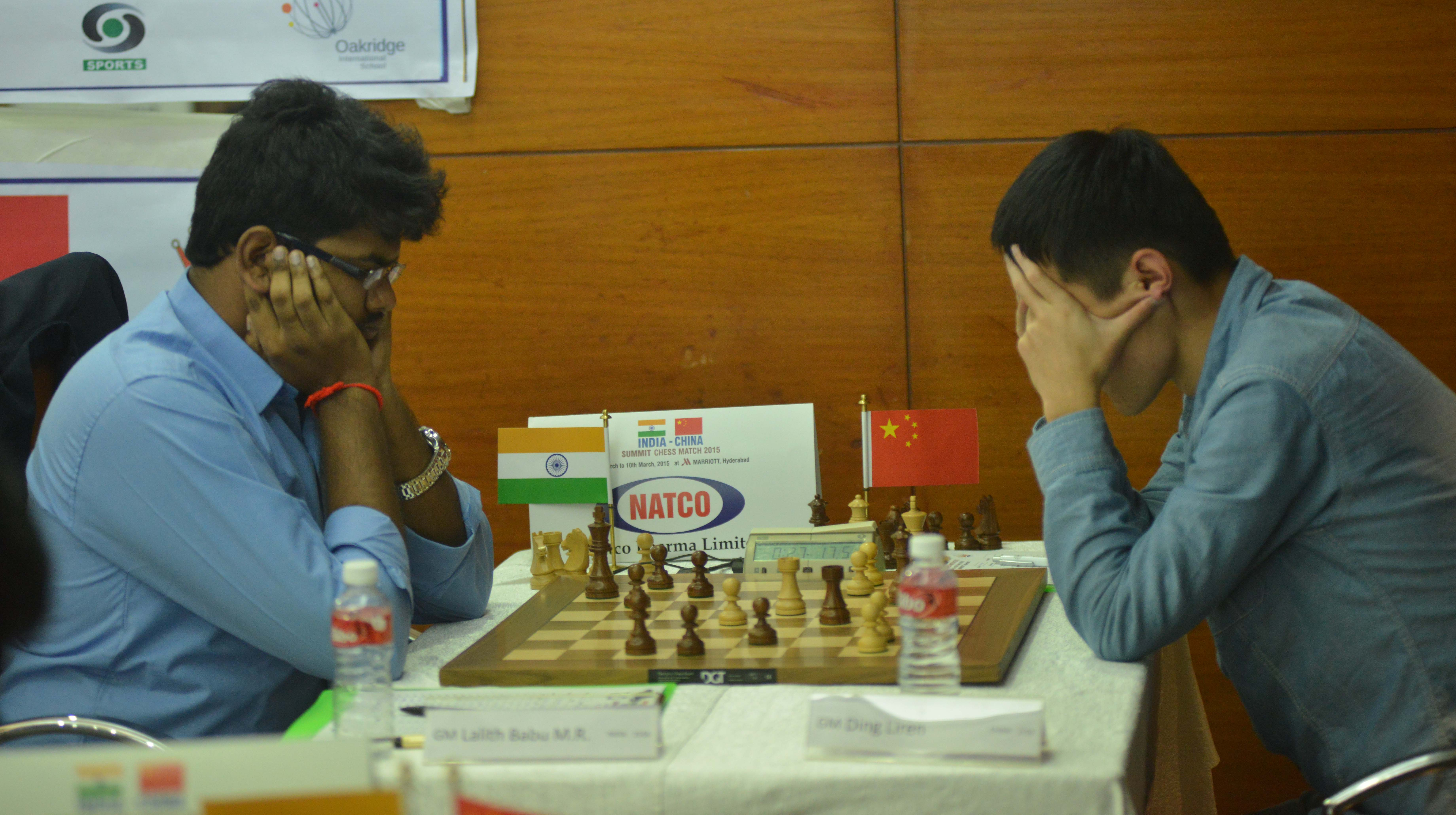 Indian China Chess Summit