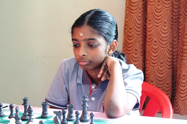 National Challengers Champion R Vaishali joined WIM Michelle Catherina at the top