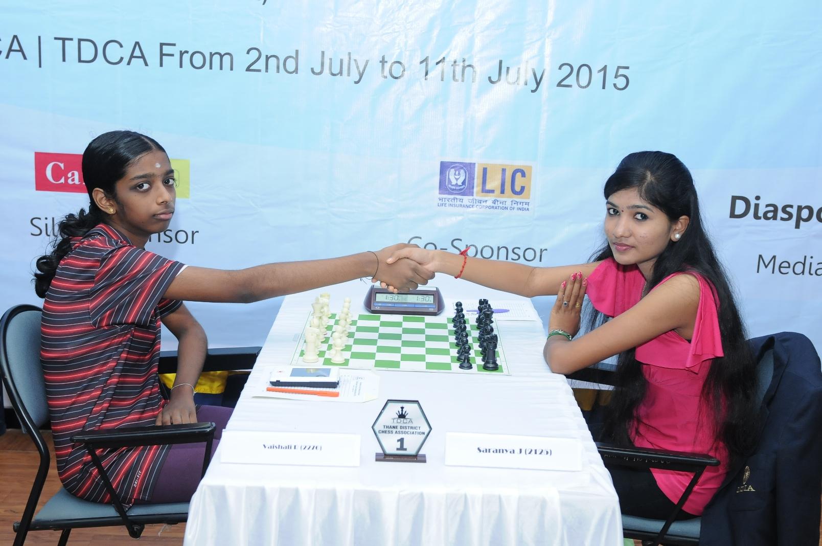 Vaishali R and Saranya J
