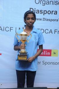 winner Vaishali R
