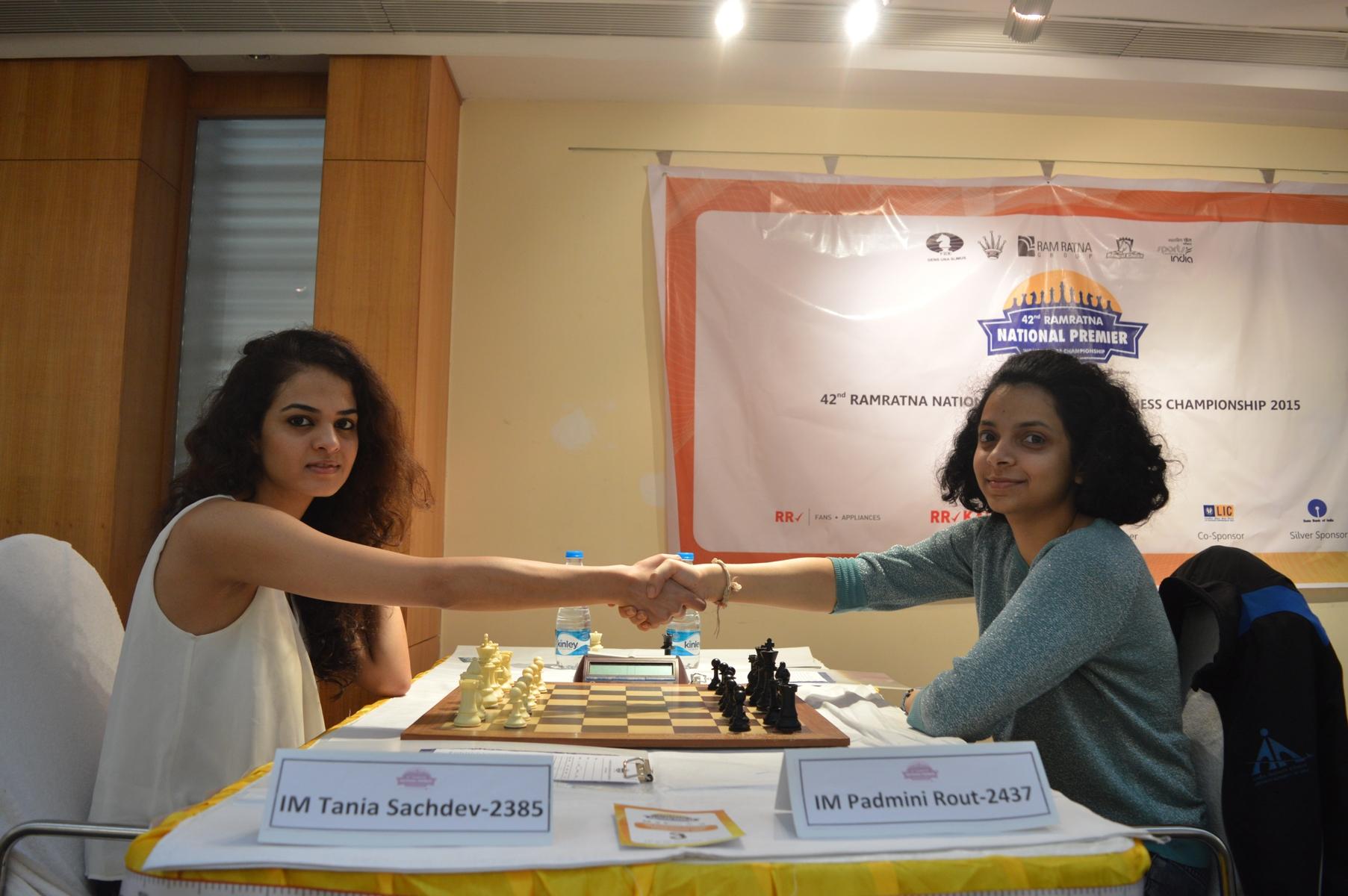 Round 10-IM Tania Sachdev- IM Padmini Rout