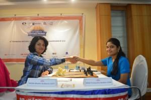 Round 10-WGM Bhakthi Kulkarni - WIM Pratyusha Bodd
