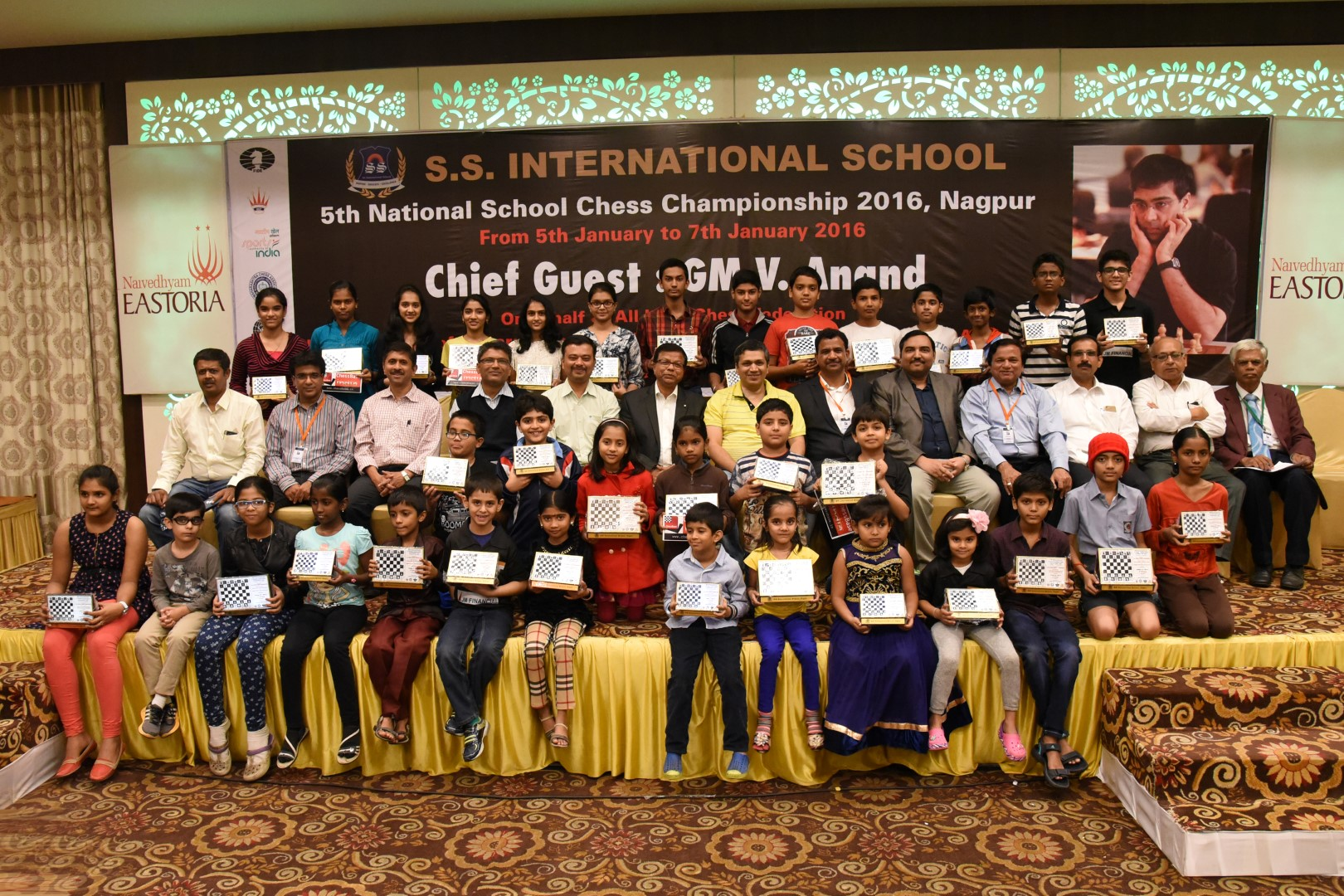 Prize Distribution Ceremony of 5th National School Chess Championship 2016.