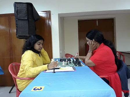 10 WIM Michelle Catherina lost to Viji in the fifth round