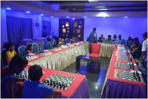 All set for a Simul Chess!