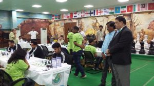 dy-president-asian-chess-federation-mr-bharat-singh-keenly-observing-the-progress-of-the-match