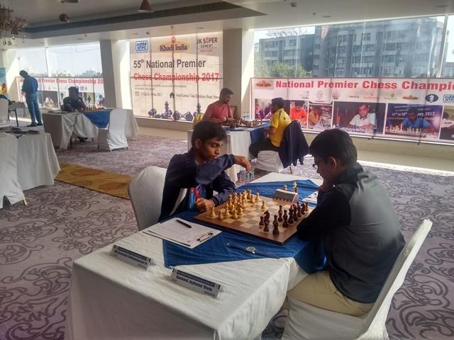 Aravindh Chithambaram scored a win over Sammed Jaykumar Shette